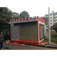 长沙安装消防应急服务站群众拍手叫好,湘潭小区便民服务亭款式制作商