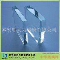 供应10mm边部抛光钢化玻璃