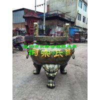 圆形铸铁香炉、陕西咸阳圆形铸铁香炉供货商
