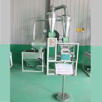 小型面粉机价格 电动磨面机械设备 家用面粉加工机械 瑞腾销售