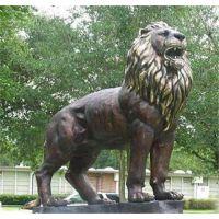 宁夏铜狮子定做|世隆雕塑|铜狮子定做哪家好