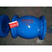 HQ45X-10/16C铸钢 DN400 进口球形污水止回阀HQ44,HQ45X,HQ41X