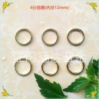 供应优质铁质5分圆圈 15mm圆圈 铁线圈扣 圆形扣 圆环
