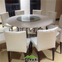大理石餐桌 连锁西餐厅餐桌椅组合定做 一年质保