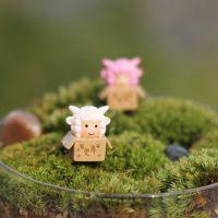 B092 植宠 微景观迷你可爱求包养小羊公仔摆件 苔藓多肉DIY生态瓶