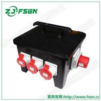 多功能插座电源箱 外壳铸铝检修箱 防水电源箱