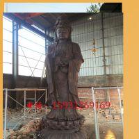 大型观音菩萨铜佛像 寺庙佛堂铜佛像 法器定制厂家 仿古工艺品摆件