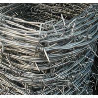 工厂院墙防护用普通双拧14*14西鲁式热镀锌刺绳
