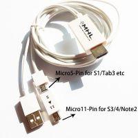 S5 mhl Note3 MHL to转HDMI高清视频转换线-----2.5米三星通用