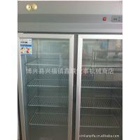 厂家直销杭州德宝商用双门保鲜展示柜 全国联保(实图)