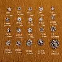 手工各类配件 藏银DIY各式花型小配件 藏银手工隔珠隔片配件批发