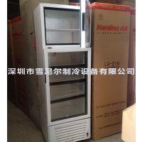 南凌冷柜.中雪雪柜 LGD-338 立式双温双门上冷冻下冷藏展示柜