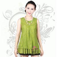 女装上衣2015夏装新款韩版蕾丝小背心百搭女士吊带宽松大码打底衫