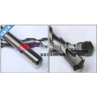 硬质合金钻头喷砂机|刃口钝化喷砂机