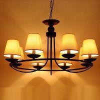 复古北欧简约美式乡村风格铁艺吊灯吸顶灯客厅灯餐厅灯卧室灯具