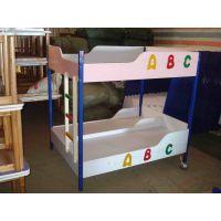 幼儿园实木学生床 简约现代儿童高低床 上下铺双层床 子母床 实木床厂家 贝贝乐家具