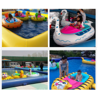水上孩子能和父母一起玩的摇船哪批发 小水沟里摆手摇船生意好 双人亲子船