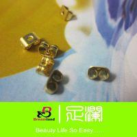 1包起批满立减 耳环饰品配件 通用蝴蝶耳堵批发 100个/包 FEA1016