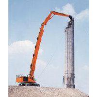 供应挖土机改装加长臂 勾机三段臂拆楼臂 伸缩臂 挖掘机冶通厂家定做