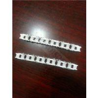 08A塑料链条 08A塑料滚子链条 40P塑料滚子链 12.7节距塑料滚子链