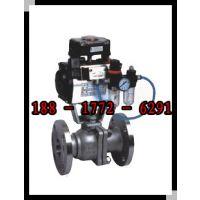 气动丝口球阀 304不锈钢气动三片式球阀 Q611F-16P