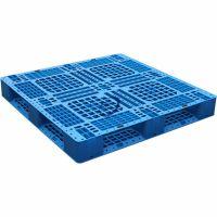 化工饲料行业专用塑料托盘-1212田字型网格塑料托盘
