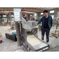雪花鸡柳条上雪花片机山东有为机械专业厂家