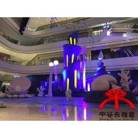 重庆商业美陈,全套泡沫雕塑,重庆中谷乐雕塑实拍案例