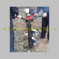 新型地钻挖坑机 手提植树挖坑机 二冲程打洞机 鼎达厂家直销