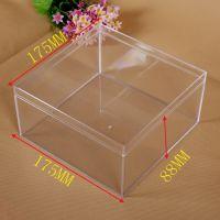 生产直销-正方形PS塑料盒 硬质塑胶盒 透明塑料盒 注塑塑胶盒