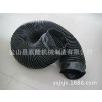 嘉隆直供精美拉链缝制式防护罩 圆筒式丝杠防护罩 伸缩式防尘罩