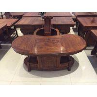 东莞长安 古典实木家具 非洲黄花梨 书柜 茶桌 办公桌 来样定制