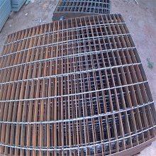 旺来铸铁格栅盖板 格栅透水板 钢格板生产厂