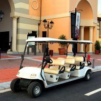 苏州展仕四轮八座电动高尔夫球车 小区物业代步车 校园观光车厂家直销