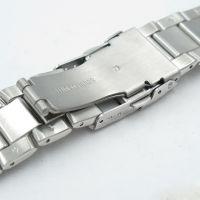 深圳厂家批发定制机械手表带 304金属不锈钢实心手表链子男士(2046G)