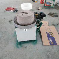 新型米浆石磨机 吉林销售电动石磨豆腐机 山东鼎信机械