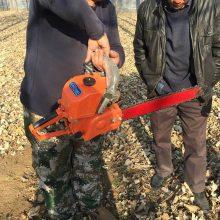 秋季汽油挖树机 挖树机型号 富民牌