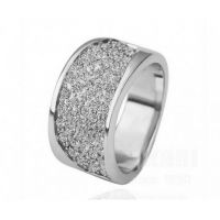 欧美外贸饰品速卖通热卖满钻戒指1291-52