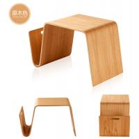 时尚懒人床上小桌子供应,弯曲木桌椅配件来图加工