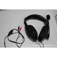 JS-735MV 电脑耳机 麦克风电脑耳麦 带咪电脑耳机 网吧耳机