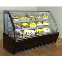 供应安德利弧形后开门蛋糕展示柜(T4)