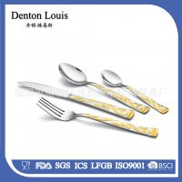 揭阳西餐餐具不锈钢刀叉镜面抛光餐具不锈钢刀叉酒店餐厅用具