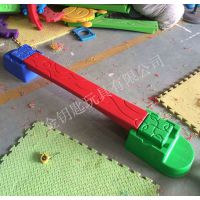 团购 森林独木桥感统训练器材 幼儿塑料平衡板 2014新款