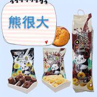 进口膨化食品 台湾熊很大/奶很大甜甜圈巧克力 休闲零食大礼包
