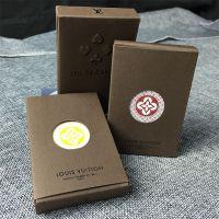 深圳厂家d定制烫金边烫金角高档扑克牌 广告礼品宣传扑克牌印刷生产可加印logo