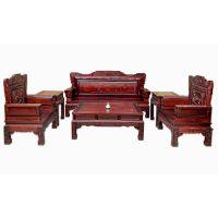 永平红木供应鸟语花香黑酸枝沙发,客厅红木家具热卖中