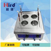 和德ZML-4煮面炉商用电热四头煮面机汤面炉麻辣烫炉台式煮粉炉节能电汤粉炉