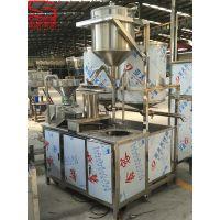 上海兢坤1000型商用二联磨浆机组 时磨100公斤 全自动磨浆煮浆渣浆分离设备
