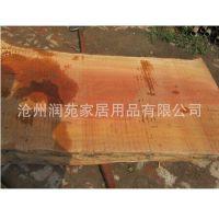 长年大量供应梨木大板 茶台板 餐桌台面 老料颜色紫红 花纹漂亮