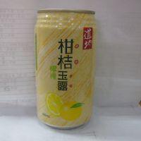 香港果汁饮料 香港道地 柑桔玉露饮料 果肉型饮料340mlX24罐/箱